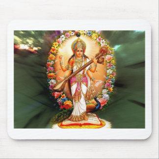 Saraswati Floral Mouse Pad