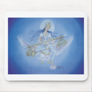 Saraswati Hindu Godess of Learning Mouse Pad