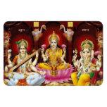 Saraswati, Lakshmi, & Ganesha Flexi Magnet