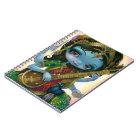 """""""Saraswati Playing Veena"""" Notebook"""