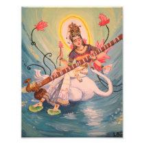 Saraswati Print