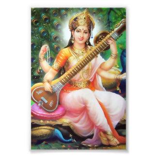 "Saraswati Print (4"" x 6"") - Version 1 Photo Print"