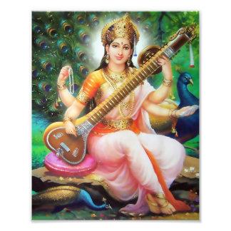 "Saraswati Print (8"" x 10"") - Version 1 Photo Print"