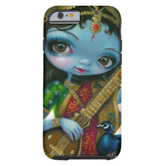 Saraswati que juega caso del iPhone 6 de Veena