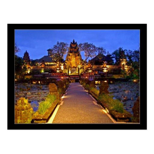 Saraswati Temple, Ubud Bali Indonesia Post Cards