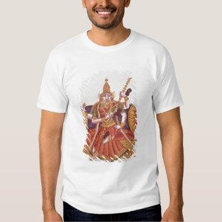 Saratheswathee, diosa hindú del aprendizaje remera