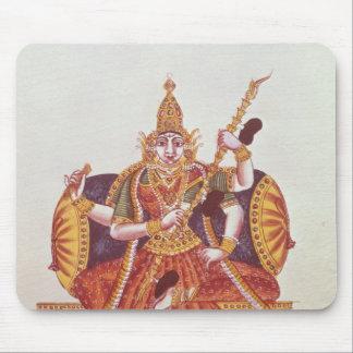 Saratheswathee, hindu goddess of learning mouse pad