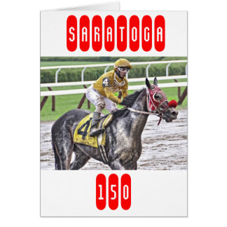 Saratoga 150 Art Photos Card