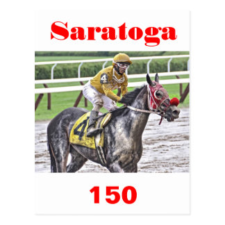 Saratoga 150 Art Photos Postcard