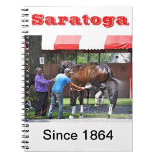 Saratoga 150 - Opening Day Notebooks