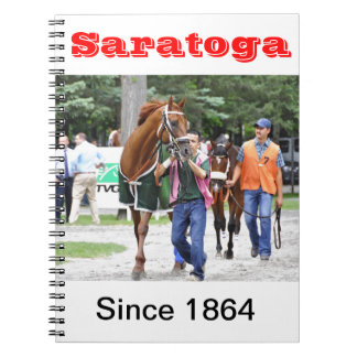 Saratoga 150 - Opening Day Spiral Note Books