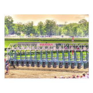 Saratoga 150 postcard