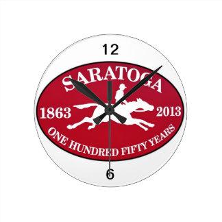 Saratoga 150 round clock