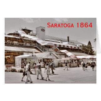 Saratoga 1864 cards