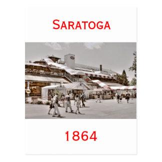 Saratoga 1864 postcards