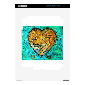 Saratoga beauty decals for iPad 2