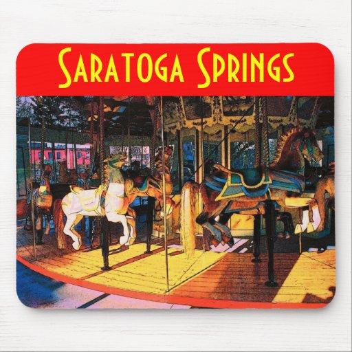Saratoga Carousel Mousepad
