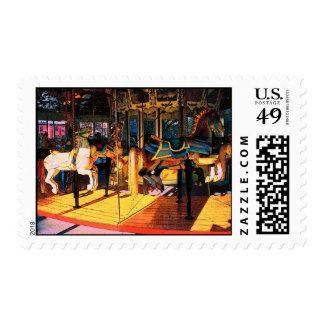 Saratoga Carousel Postage