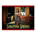 Saratoga Cigar Store Postcard