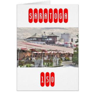 Saratoga Clubhouse 150 Card