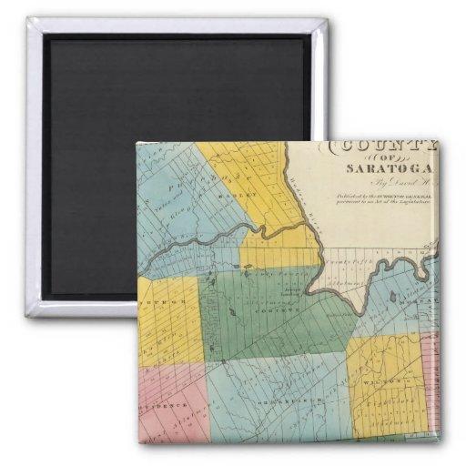 Saratoga County Fridge Magnets