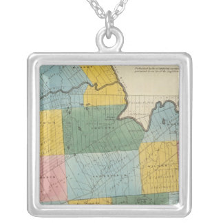 Saratoga County Silver Plated Necklace