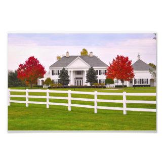 Saratoga Golf Clubhouse Photo Print