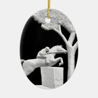Saratoga Horse Art Ceramic Ornament