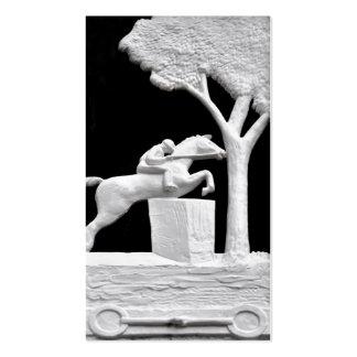 Saratoga Horse Art Sculptures Business Card