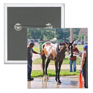 Saratoga - Horse Haven Pinback Button