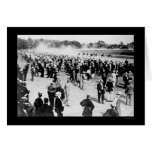 Saratoga Horse Race Track 1913 Greeting Cards