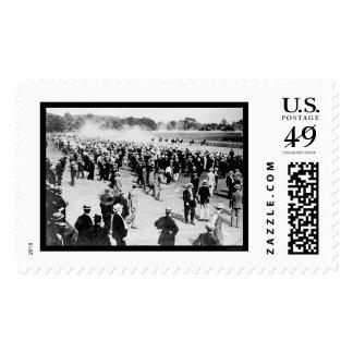 Saratoga Horse Race Track 1913 Stamp