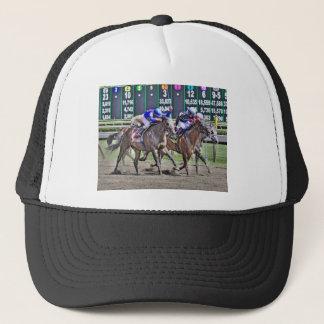Saratoga Horse Racing Trucker Hat