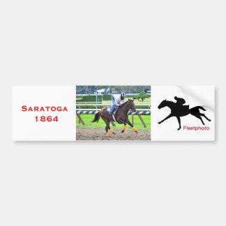 Saratoga Morning Workouts Bumper Sticker