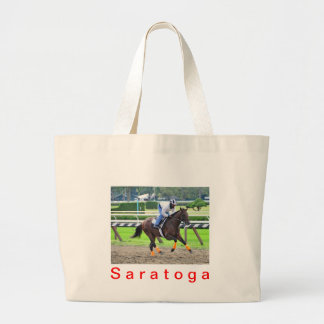 Saratoga Morning Workouts Large Tote Bag