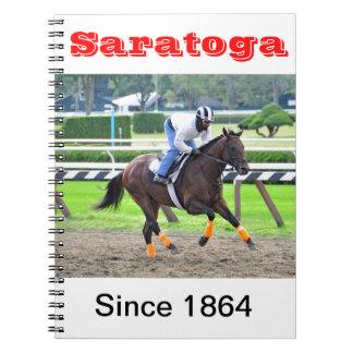 Saratoga Morning Workouts Notebook