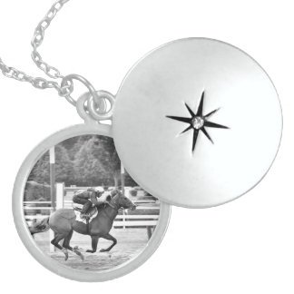 Saratoga Morning Workouts Sterling Silver Necklace