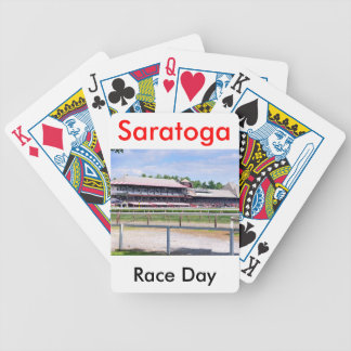 Saratoga Race Course and Clare Court Bicycle Playing Cards