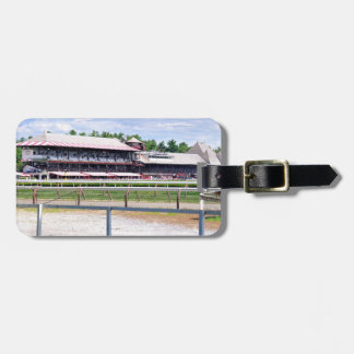 Saratoga Race Course and Clare Court Luggage Tag