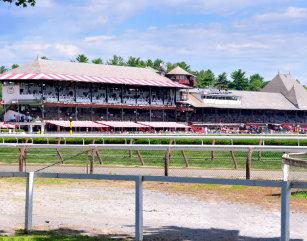 Saratoga Race Course Art Wall Décor Zazzle