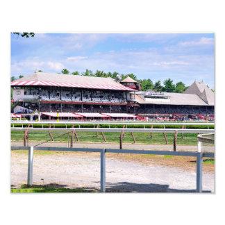 Saratoga Race Course and Clare Court Photo Print