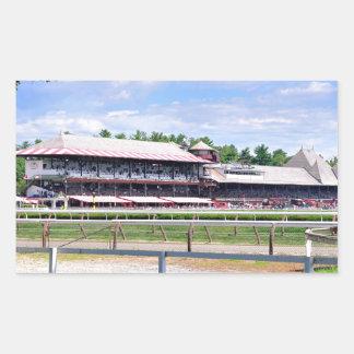 Saratoga Race Course and Clare Court Rectangular Sticker