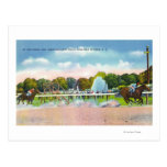 Saratoga Race Track Finish Line View Postcard