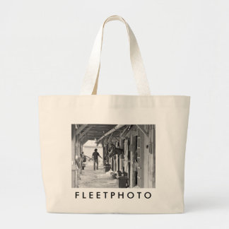 Saratoga Shedrow at Horse Haven Tote Bags