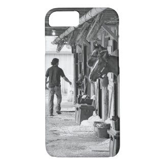 Saratoga Shedrow at Horse Haven iPhone 7 Case