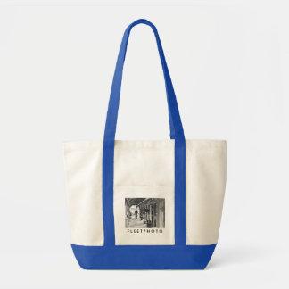 Saratoga Shedrow at Horse Haven Tote Bag