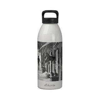 Saratoga Shedrow at Horse Haven Reusable Water Bottle