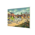 Saratoga Spa Recreation Unit View Canvas Print