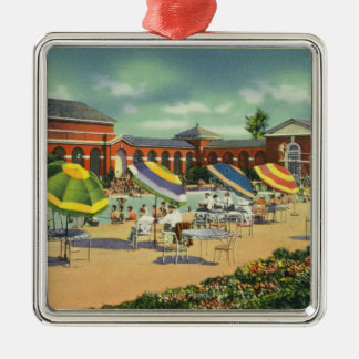 Saratoga Spa Recreation Unit View Christmas Ornaments