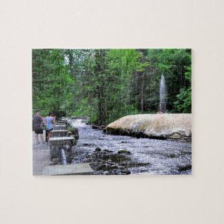 Saratoga Spa State Park-Geyser Creek Jigsaw Puzzle